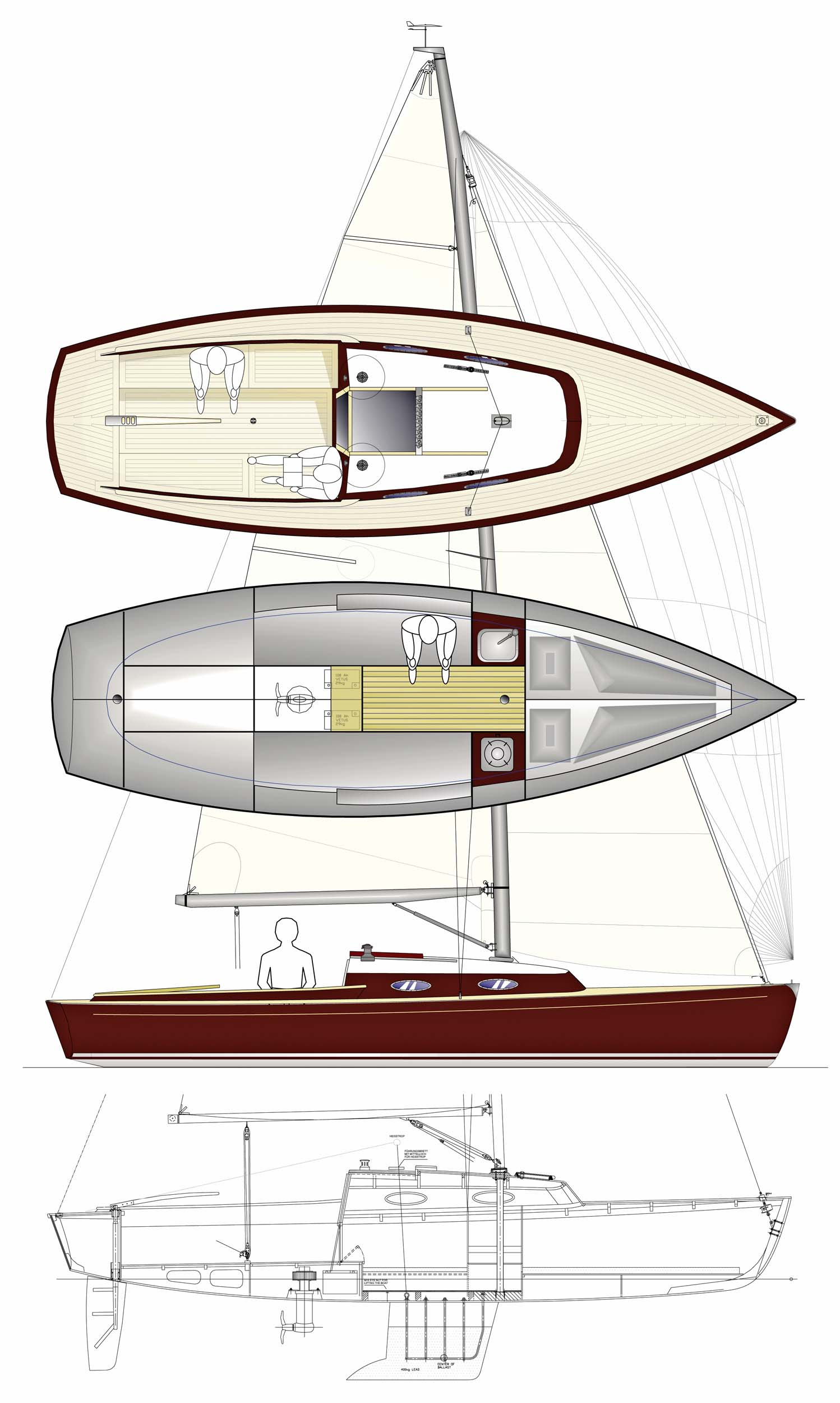 Berckemeyer yacht design plans for modern and classic sailing yachts ccuart Gallery