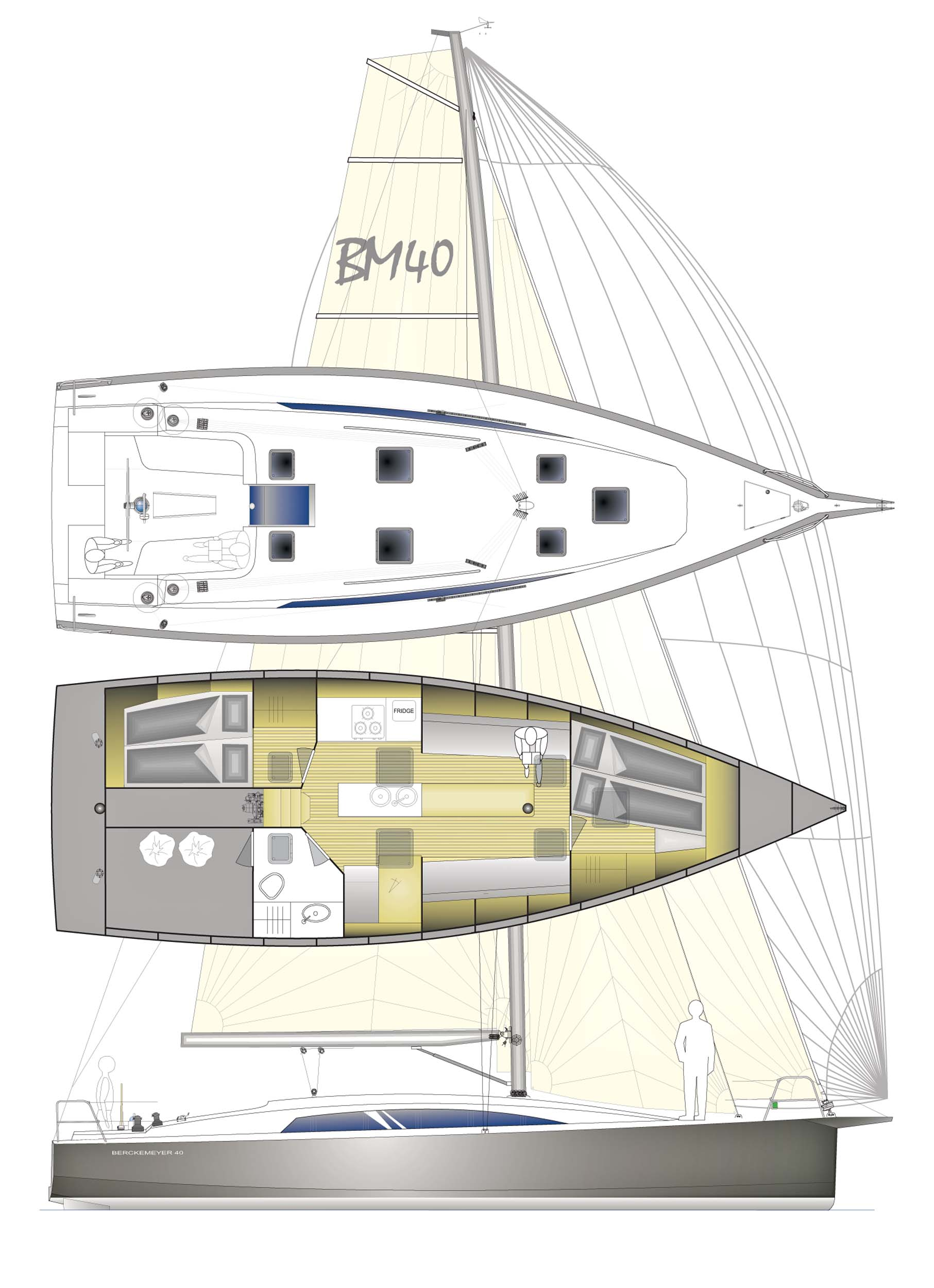 Berckemeyer yacht design plans for modern and classic sailing yachts email pooptronica Choice Image