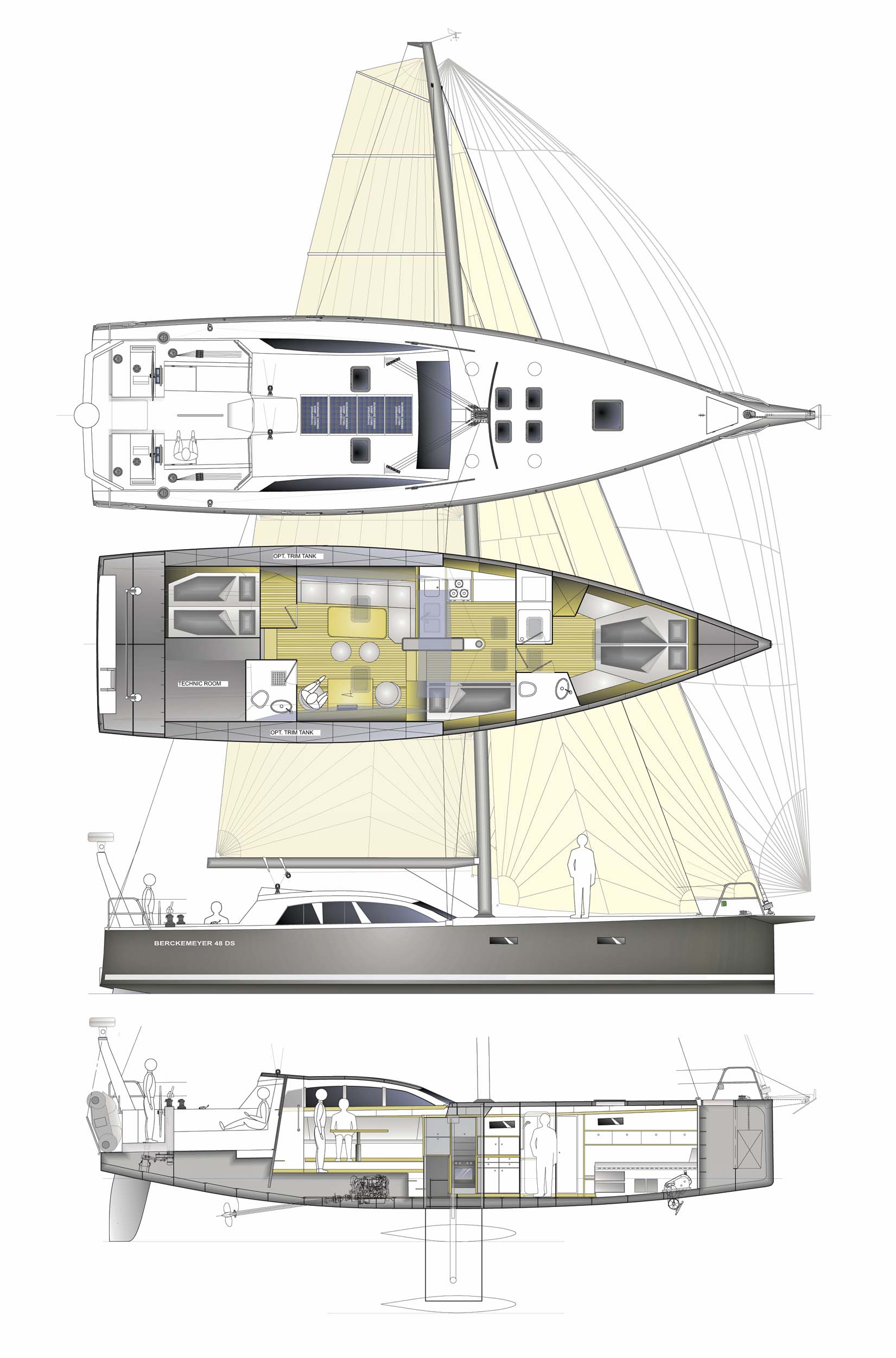 berckemeyer yacht design plans for modern and classic sailing yachts